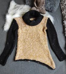 Kötött pulóver S-M🌻