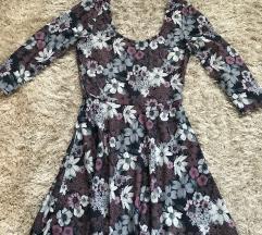 Stradivarius virágos ruha