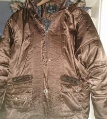 XXXL-es barna kabát