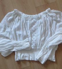 H&M fehér nyári blúz