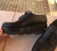 Platformos oxford cipő