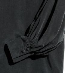 H&M állógalléros blúz