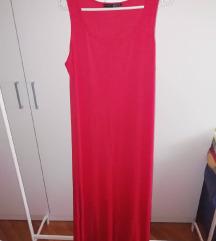 Hosszú simulós nyári ruha