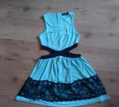 Cutout menta csinos ruha