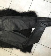 Extra meleg bőr legging