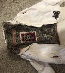 Mayo Chix kapucnis szőrös pulcsi kabát XS