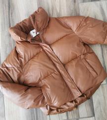 MISSPAP műbőr pufi kabát