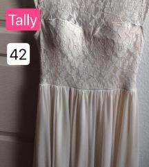 fehér tallys csipke ruha