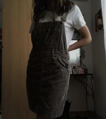 Bordás kantáros ruha M