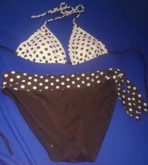 Újszerű, csinos, MY77 pöttyös bikini