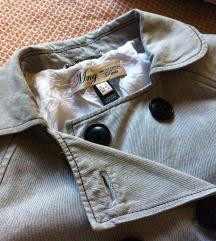 Ezüstszürke mango kabát