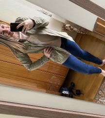 Khaiki női kabát