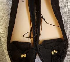 H&M fekete rojtos mokaszin (ingyen posta