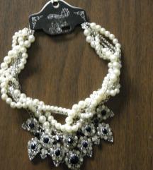 Statement dekoratív nyaklánc