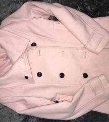 Rózsaszín H&M-es szövetkabát