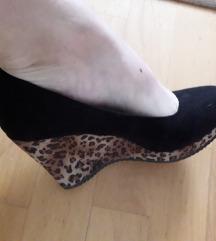 Graceland párducmintás éktalpú cipő postával