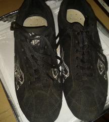 Vintage fekete cipő 37-es