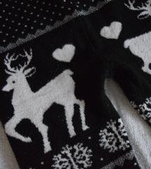 Karácsonyi rénszarvasos leggings