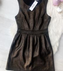 Új címkés Cache Cache. bronz vastag szövet ruha M