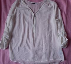 Fehér áttetsző ing