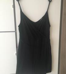 H&M fekete nyári ruha pántos megkötős L-XL 44-46