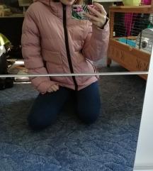 Rózsaszín pufikabát