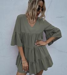 Shein nyári fodros ruha