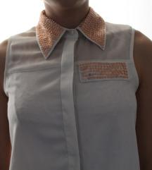 Flitteres rövidujjú ing
