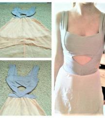 Csinos kivágott ruha (XS-S)