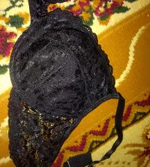 Fekete csipke melltartó
