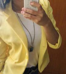 Sárga blézer