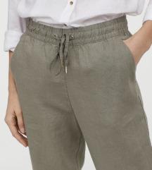 H&M nyári len nadrág