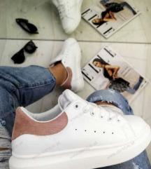FSB fehér-rózsaszín sneaker