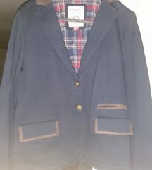 XL-es vastag kék zakó