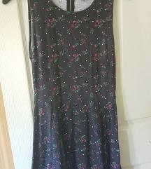 Fekete virágos nyári ruha