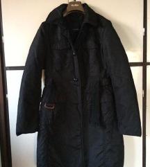 Max Mara fekete hosszú kabát 96112ed48c