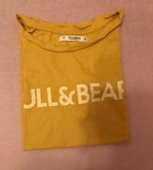 Sárga Pull&Bear póló