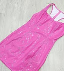 Pink lakk vinyl miniruha