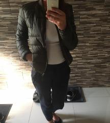 Új Khaki átmeneti őszi pehely kabát dzseki S