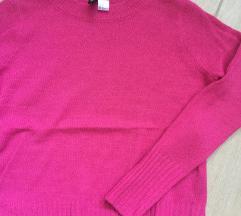 Pink h&mes pulóver