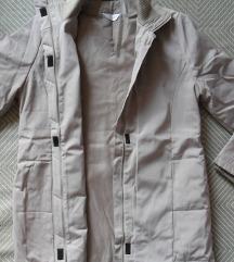 M, 38 - Világos télikabát, dzseki, félhosszú