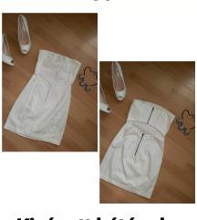 Hófehér Új H&M 34 ruha