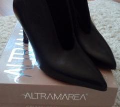 Altramarea bőr cipő magassarkú 35