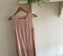 Púderrózsaszín ruha