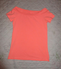 Neonrózsaszín póló