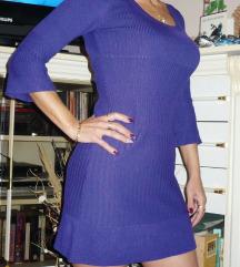H&m lila kötött ruha XS-es!