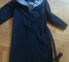 Fekete vintage midi ruha