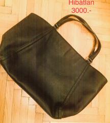 LEÁRAZVA-Fekete MANGO táska hibátlan