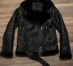 Zara típusú C&A vastag bundás XS kabát