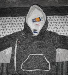 ÚJ,címkés Lupilu kisfiú kabát szürke és sötétkék